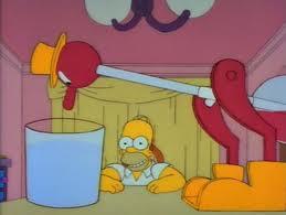 Pajarito de Homer Simpson