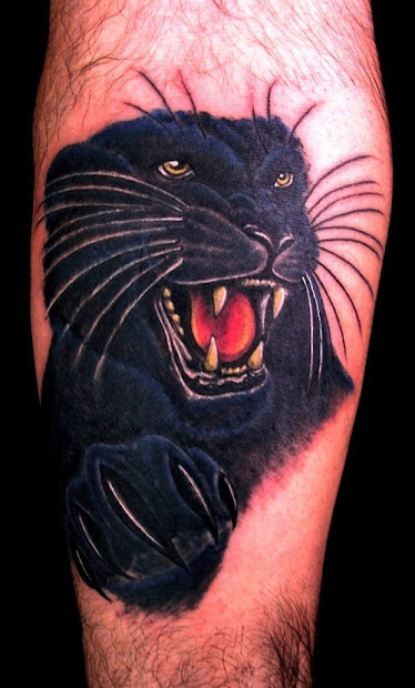 panther tattoo3d tattoos
