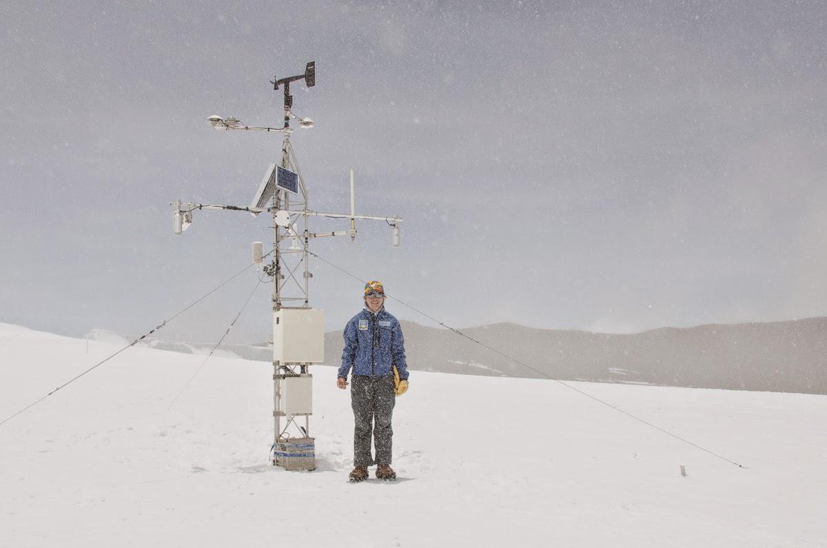 2014 - Die automatische Wetterstation