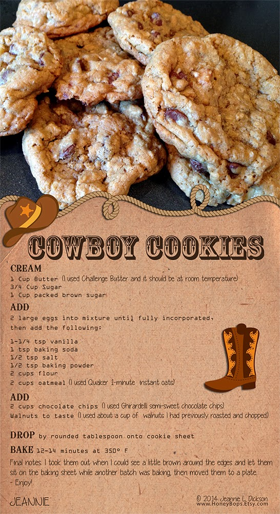 HoneyBops: Cowboy Cookies Recipe. Perfect for a Father's ...
