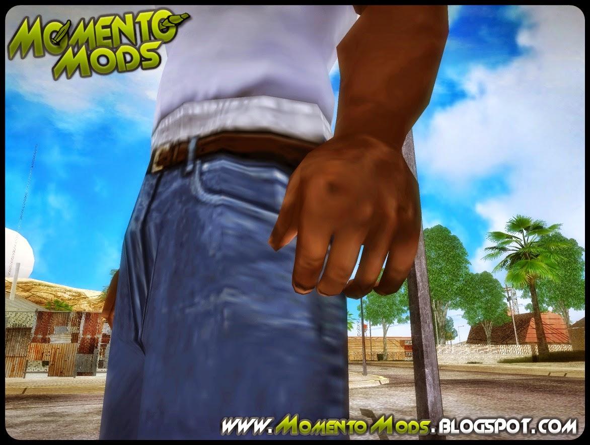 GTA SA - Mãos Da Versão Mobile (Dedos Separados)