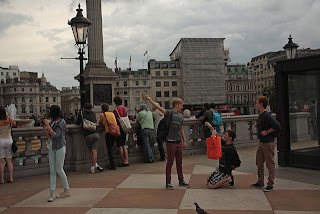 London travel - walking