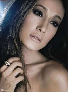 Model  Maggie Q