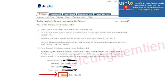PayPal Rút tiền từ PayPal về Việt Nam