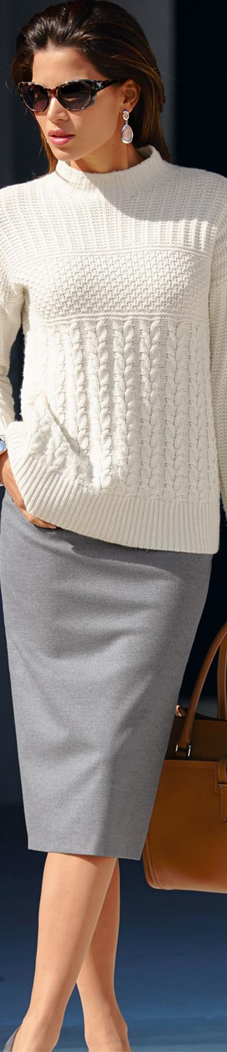 MADELEINE Skirt and Sweater