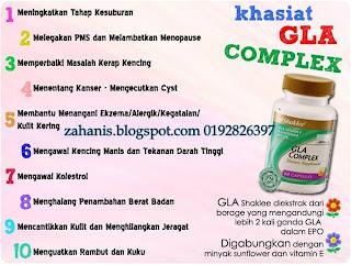 khasiat gla complex shaklee
