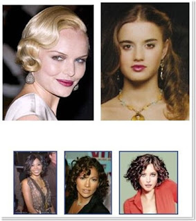 Pin Curl Hairstyle Ideas