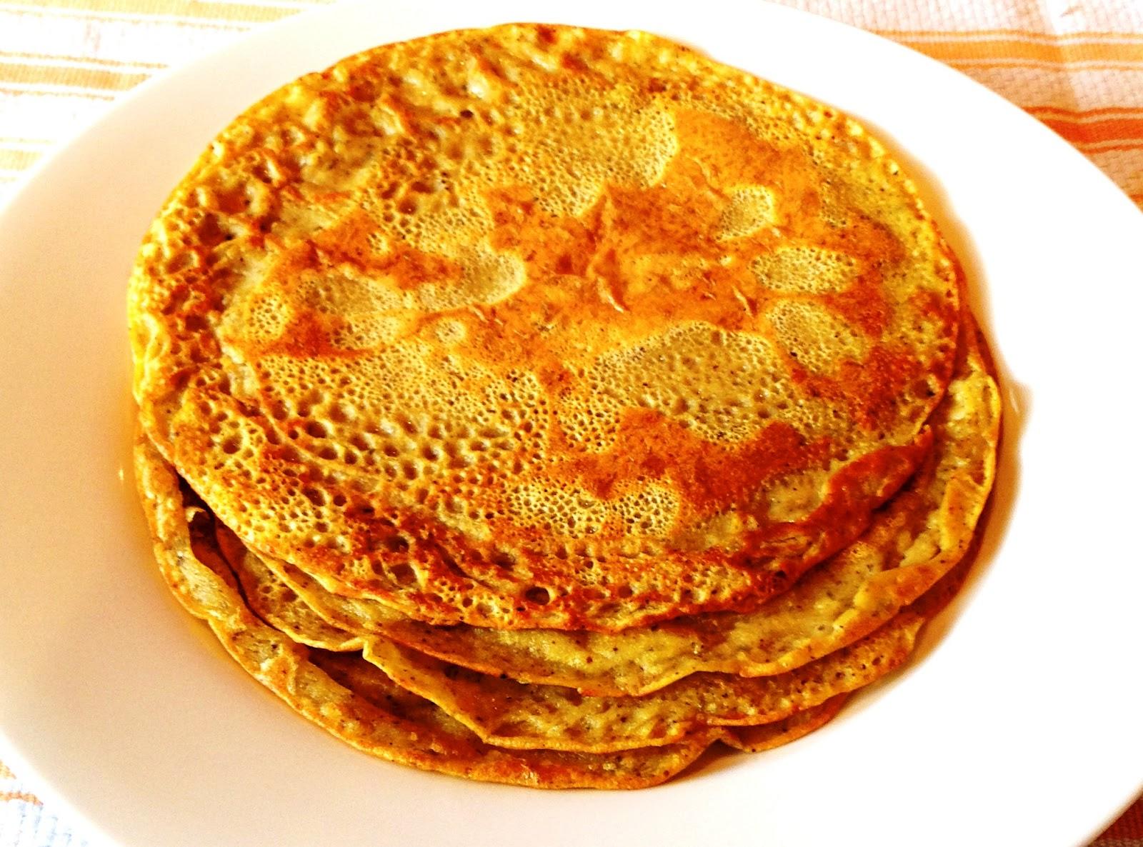 ... Sensitive Epicure: Socca with Za'atar & Sumac (Garbanzo Flour Crepes