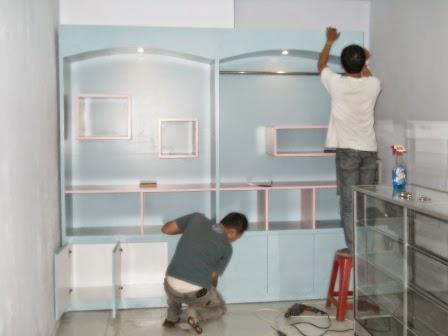 display showcase / rak etalase semarang