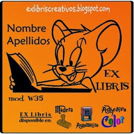 EXlibris Creativos (W35) Jerry lee