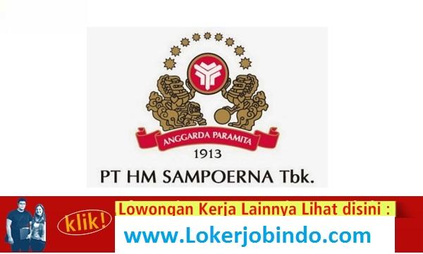 Lowongan Kerja S1 Terbaru PT HM Sampoerna Tbk
