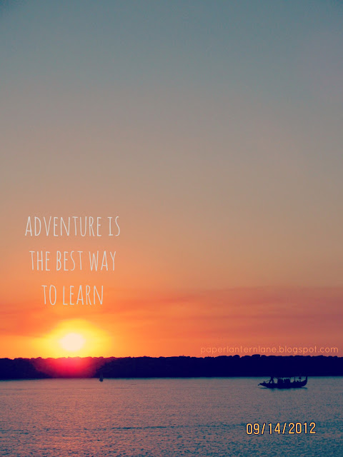 Sunset- Adventure is the Best Way to Learn