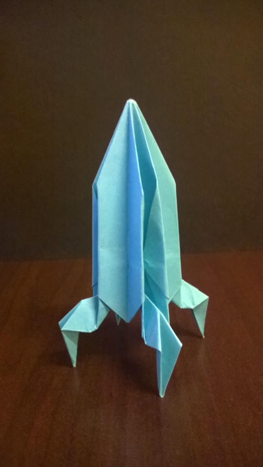Yoshinys Design How To Fold An Origami Rocket