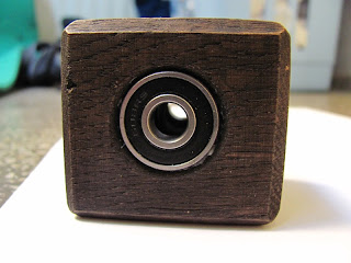 Wooden cube for DIY gimbal