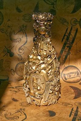 Amuleto de la suerte con abalorios en Recicla Inventa
