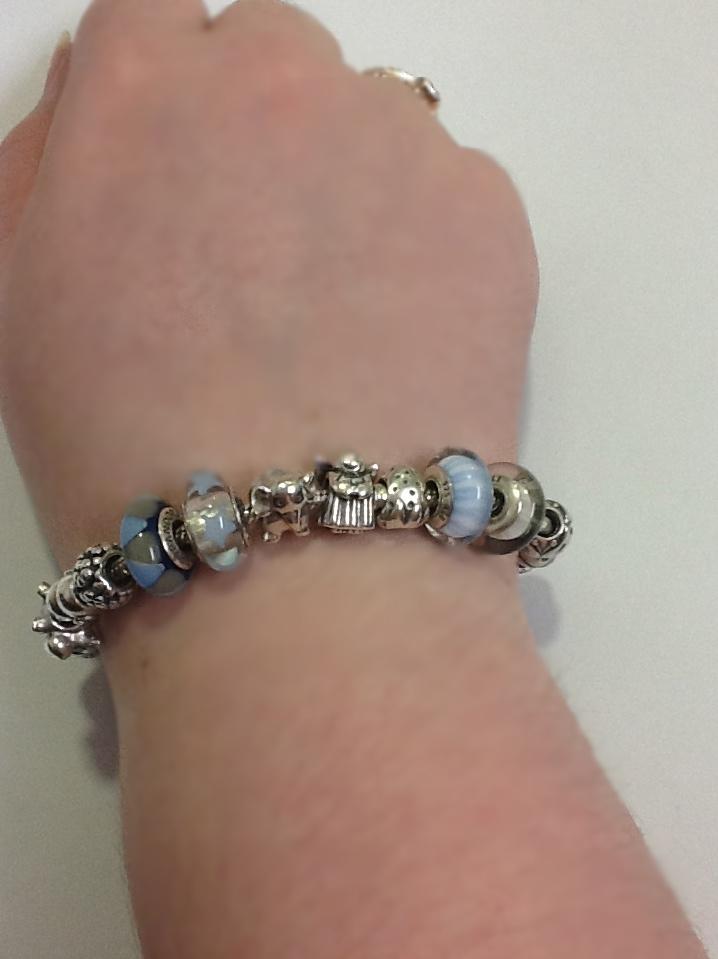 Finished pandora bracelet ideas