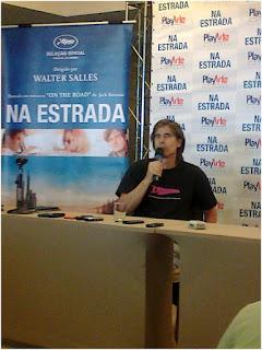 "Walter Salles fala sobre filme ""Na Estrada"""