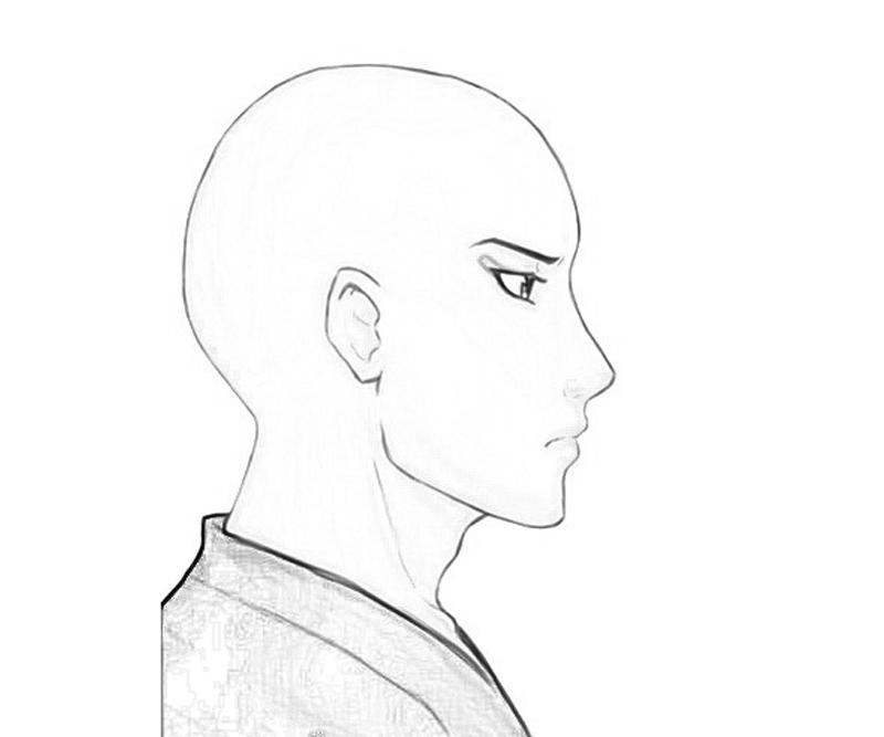 ikkaku-madarame-face-coloring-pages