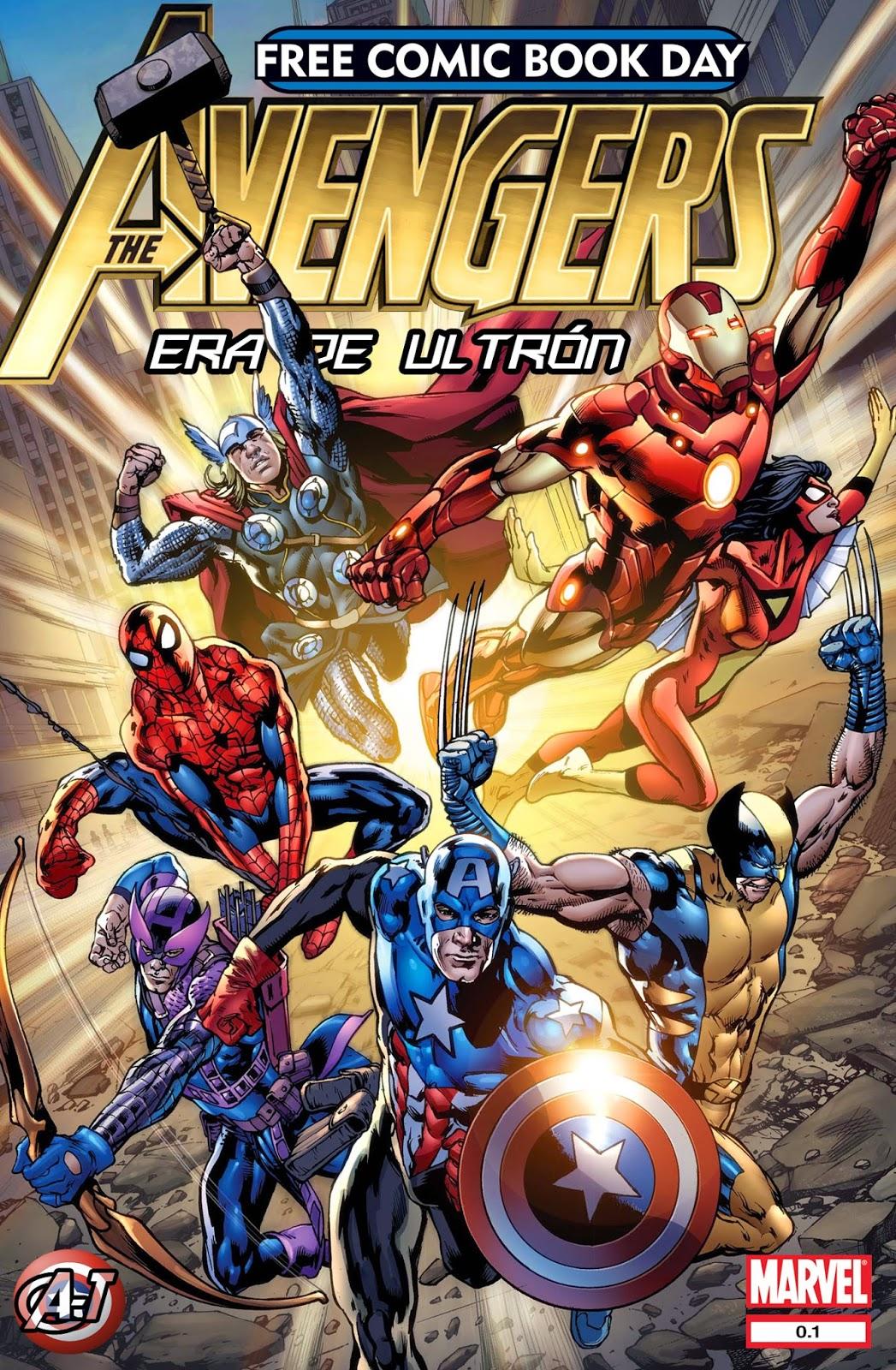 Os Vingadores - Era de Ultron #0.1 (Em espanhol)