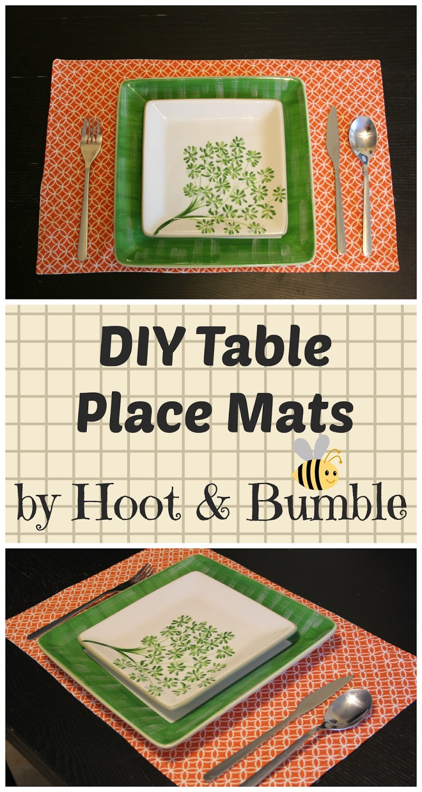 how to make scroll like placemats