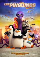 Poster Los Pingüinos de Madagascar 2014