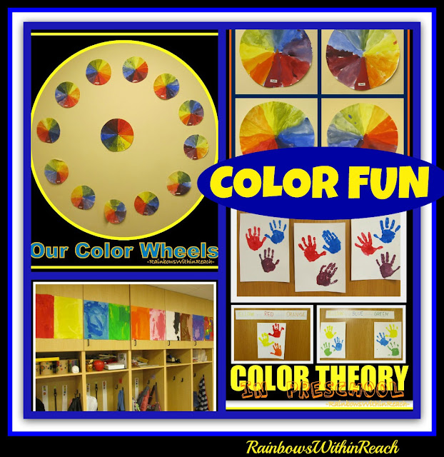 photo of: Color Theory Explorations for Children via RainbowsWithinReach