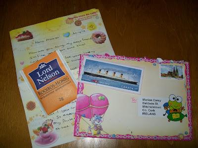 snail mail, pen pal