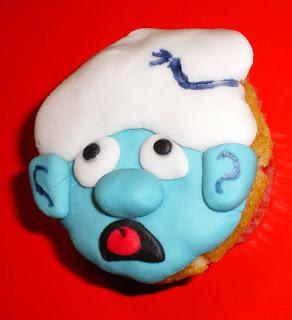 pasta-di-zucchero-torta-cake-cup-cupcake-puffo-puffi-tontolone