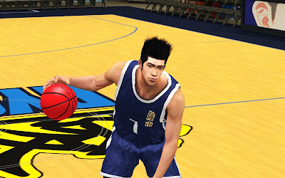 Slam Dunk 2K13 Akira Sendoh Cyberface Patch
