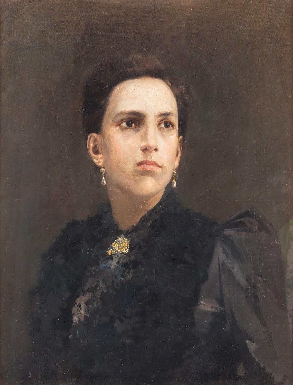 Gaetano Esposito Ritratto di contessa