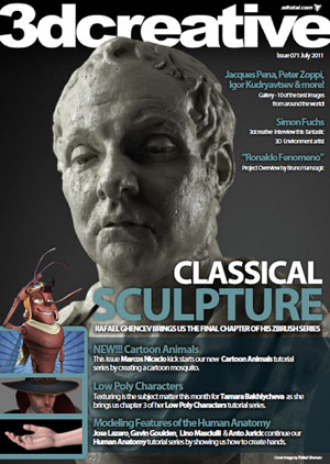 3DCreative Magazine Issue 71 July 2011