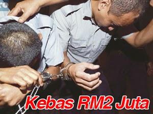 Thumbnail image for 2 Pengawal Keselamatan Kebas RM2 Juta Dipenjara & Sebat