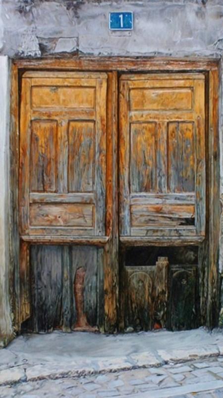 Pinturas cuadros lienzos cuadros de puertas antiguas for Puertas de campo antiguas