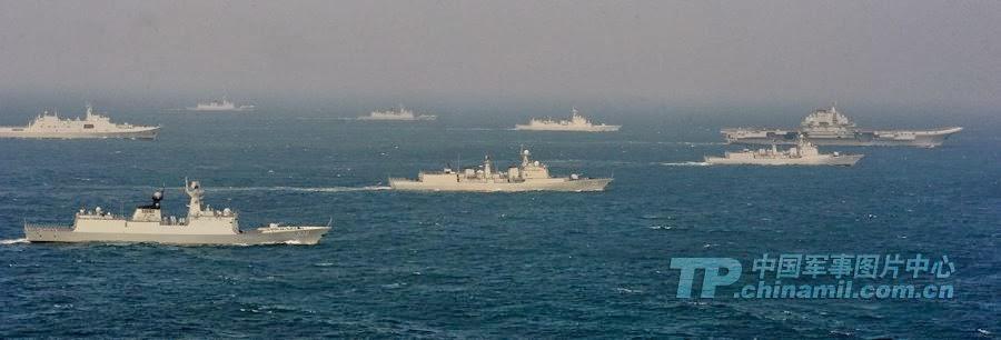 10 gambar armada perang negara china ceroboh sempadan maritim malaysia