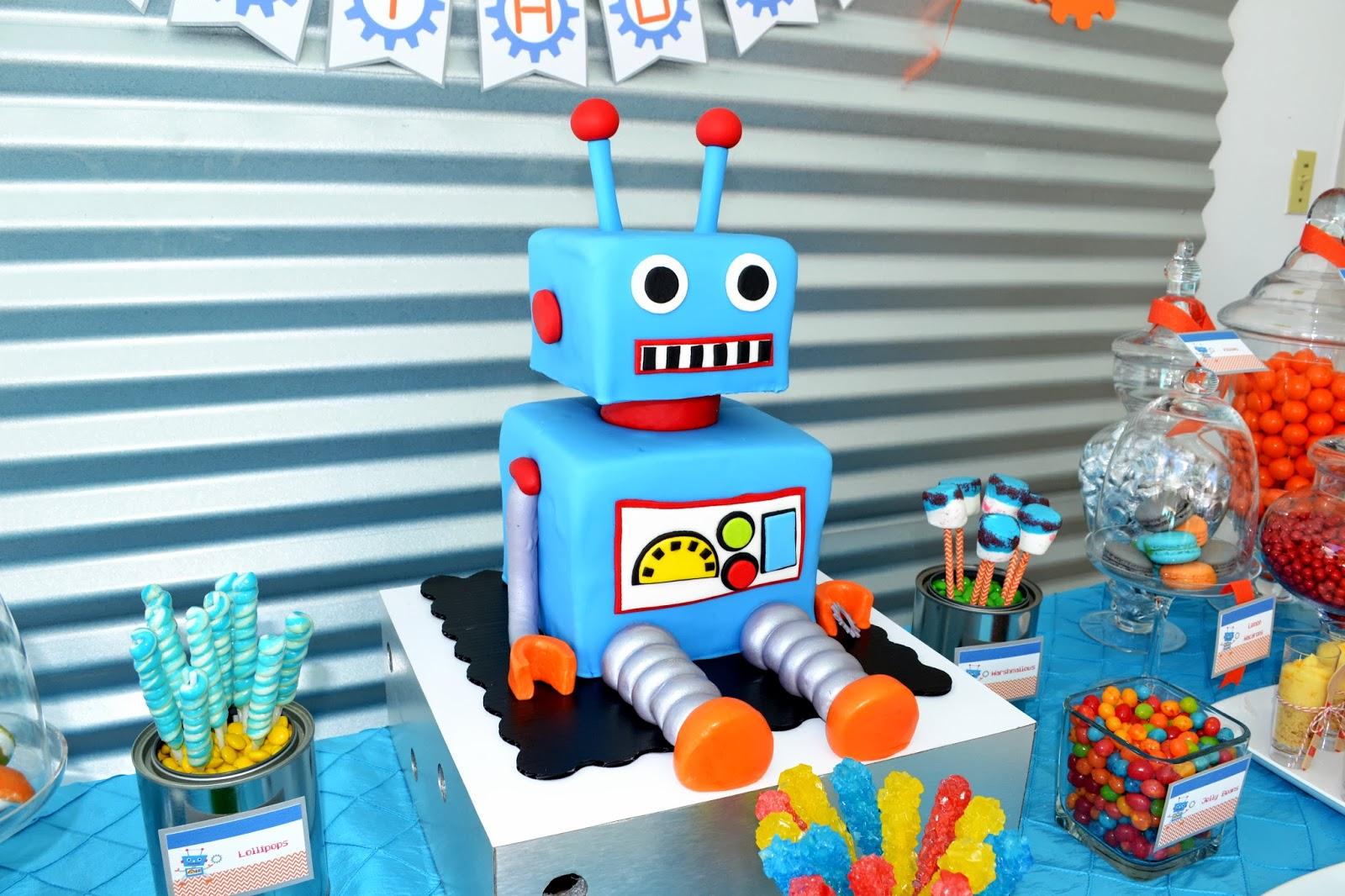 Robot Classroom Decoration Ideas ~ Partylicious events pr birthdays robot party