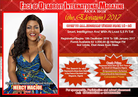 Rush Now to Pick Your Form for FACE OF ADROIT MAGAZINE 2017