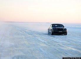 Driver Juha Kankkunen,World's highest speed on ice