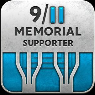 9/11 Memorial Supporter