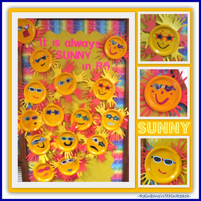 Bulletin Board of Sunshine from Hand RoundUP at RainbowsWIthinReach