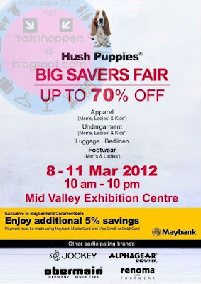 Hush Puppies Big Savers Fair