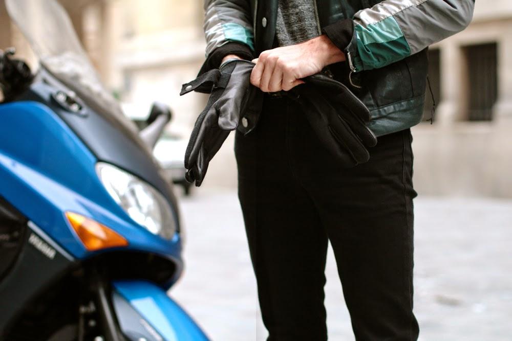 Kaporal leather gloves - gants cuir - blog mode homme mensfashion