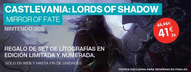 Castlevania: Lords of Shadow - Mirror of Fate con regalo de pack de litografías en edición limitada y numeradas