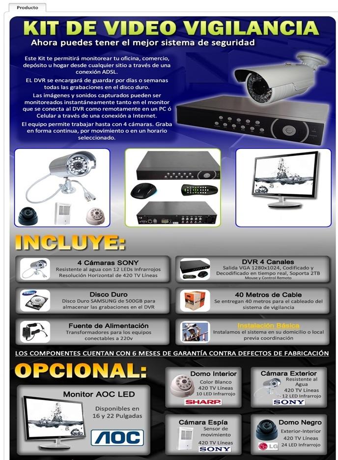Vigilancia sistemas camaras en pereira circuito cerrado - Video camaras vigilancia ...