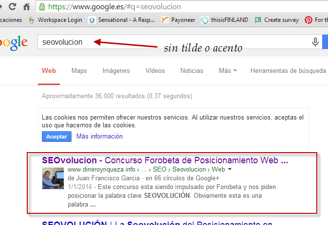 seovolución search optimization SEO marketing online web marketing posicionamiento web