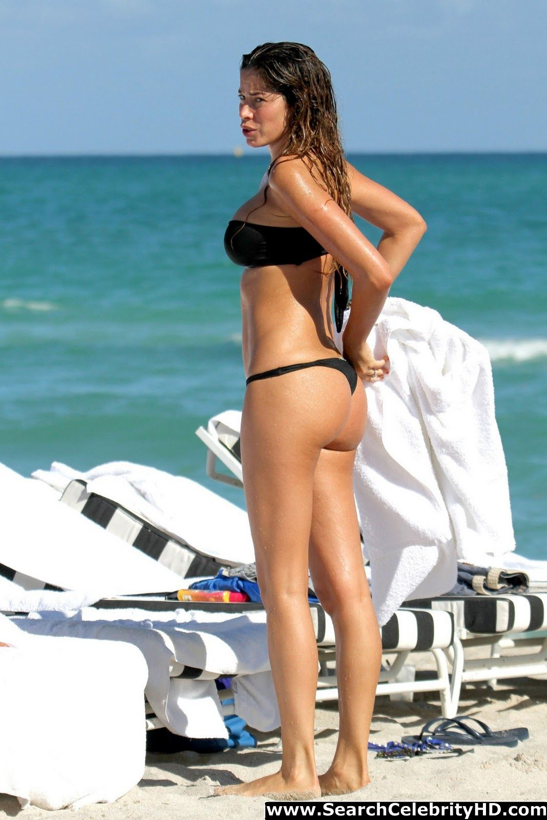 Celebrity Thong Bikini 45