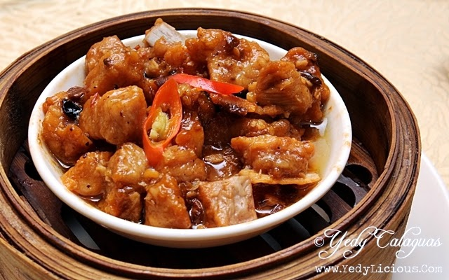 Crystal Jade Steamed Pork Rib in Black Bean Sauce