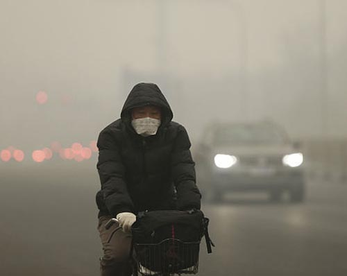 Beijing pollution red alert