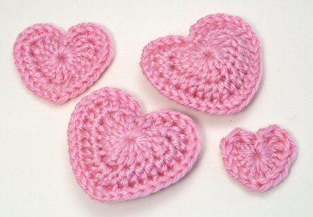 Free Crochet Pattern For A Large Heart : Janela do Soton: Coracao de Croch?