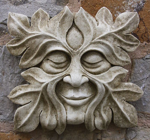 Green man on pinterest goddesses chainsaw carvings and