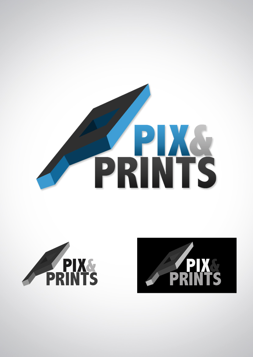 pix and prints logo